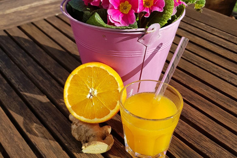 🍊 Orange trifft Ingwer