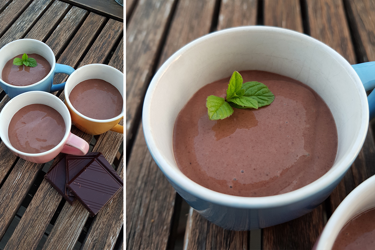 Mousse au Chocolat – vegan & zuckerfrei